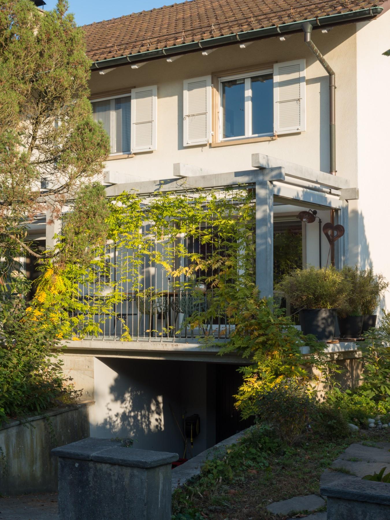 Dual Anbau Terrasse Solothurn